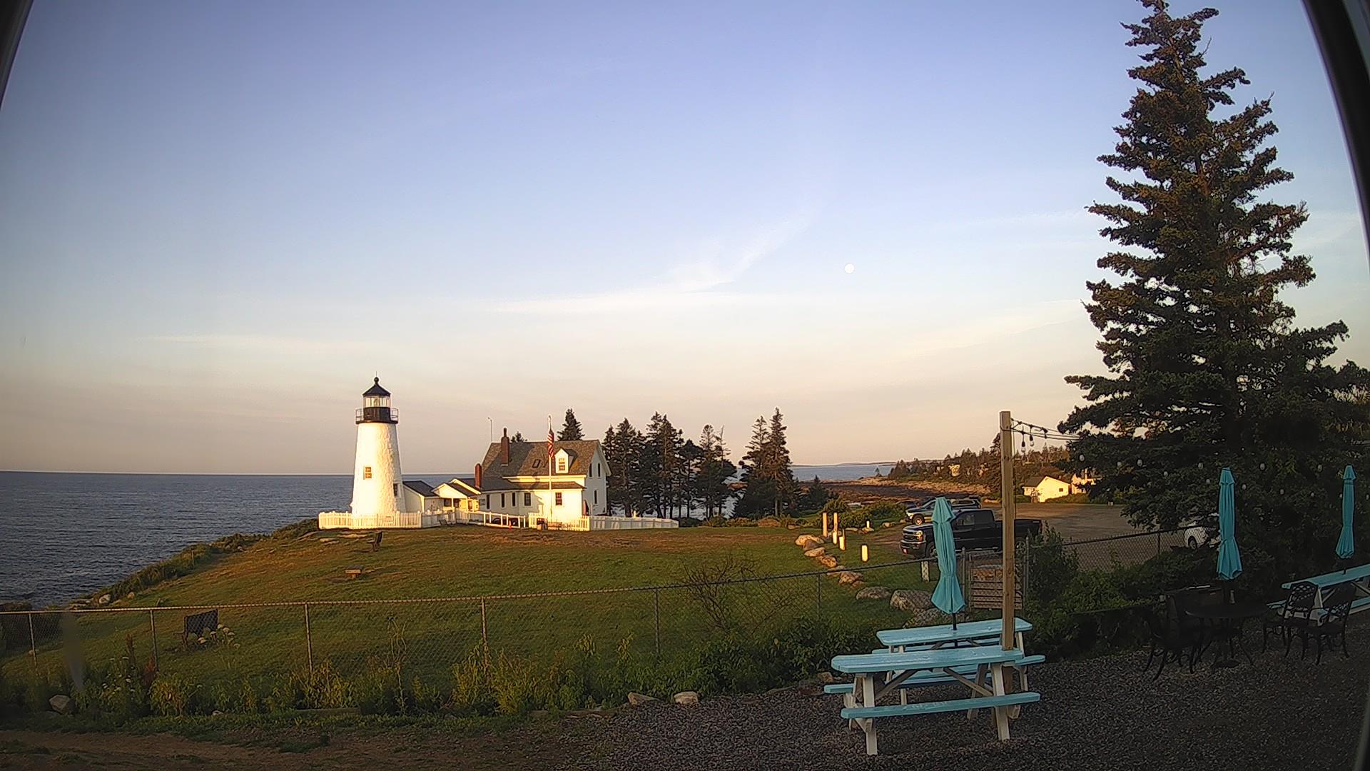 Damariscotta webcam - Pemaquid Point Lighthouse webcam, Maine, Lincoln County